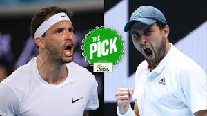 Image result for Grigor Dimitrov vs Aslan Karatsev
